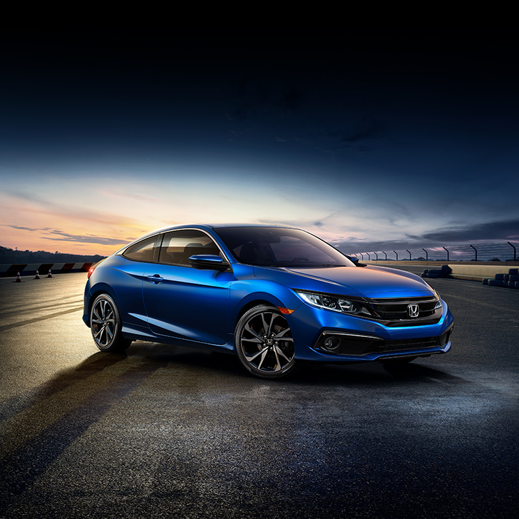 2020 Civic Coupe – The Sporty & Sophisticated Coupe