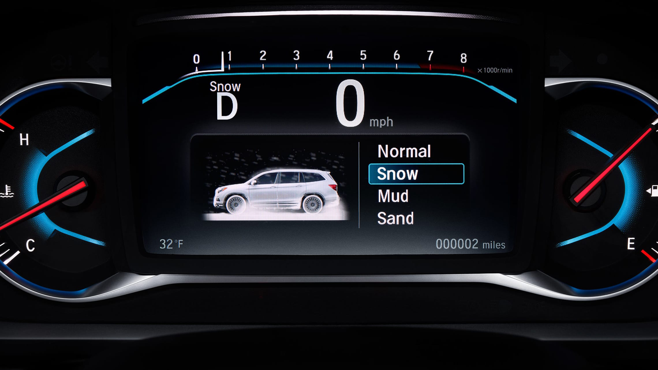 Intelligent Traction Management detail in 2021 Honda Pilot.